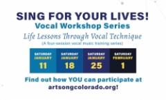 Sing for Your Lives! An Art Song Colorado Vocal Workshop