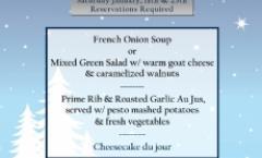 Winter Dinner Series - Palisade Prime Rib Night