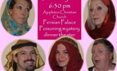 Persian Palace Poisoning mystery dinner theater
