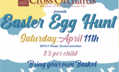 Cross Orchards Easter Egg Hunt