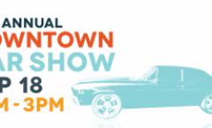Downtown Car Show