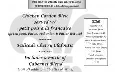 Friday Delivery Dinner @ Maison La Belle Vie