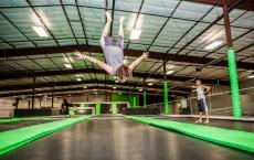 Get Air at the Silo - Trampoline Park