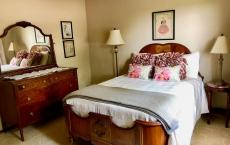 The Peach Bedroom at The Red Door Inn
