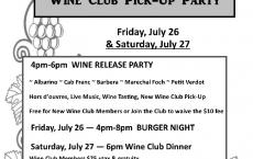Maison La Belle Vie Winery Wine Release & Wine Club Pick-Up Party