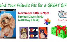 Paint Your Pets Portrait Fundraiser