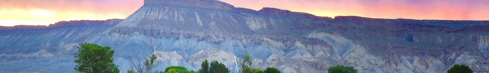 Bookcliffs Visit Grand Junction Colorado