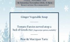 Winter Dinner Series