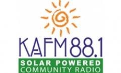 Moors & McCumber in the KAFM Radio Room
