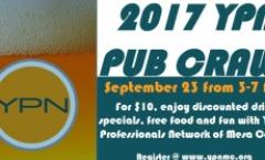 Downtown Pub Crawl hosted by the Young Professionals Network