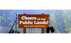 Cheers to our Public Lands Carson Lake Hike & Happy Hour