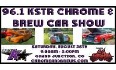 96.1 KSTR Chrome & Brews Car Show