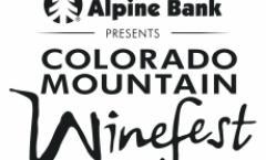 Colorado Mountain Winefest presented by Alpine Bank