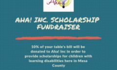 Aha! Inc Scholarship Fundraiser