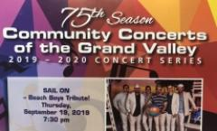 SAIL ON- Beach Boys Tribute (Community Concerts of the Grand Valley)