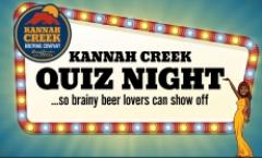 Kannah Creek Quiz Night