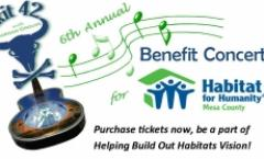 Benefit Concert for Habitat of Mesa County w/ Exit 42 & Morgan Crouse