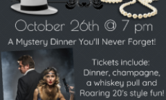 Murder at the Juice Joint Mystery Dinner