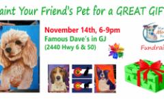 Paint Your Pets Portrait Fundraiser