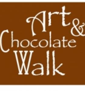 Art and Chocolate Walk